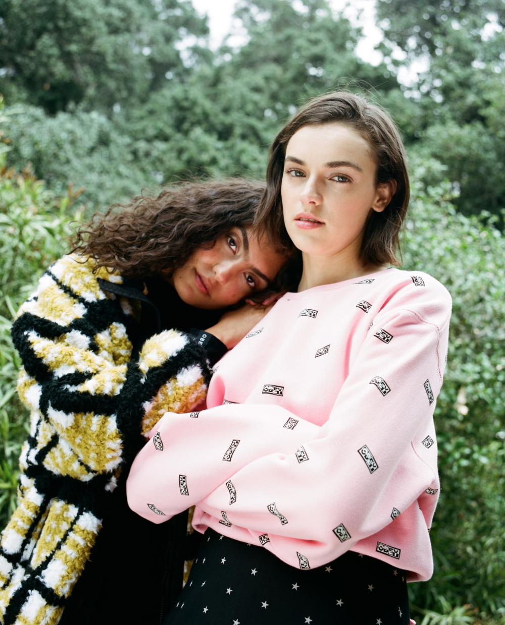 Styled OBEY Clothing Women's Fall Campaign, 2019