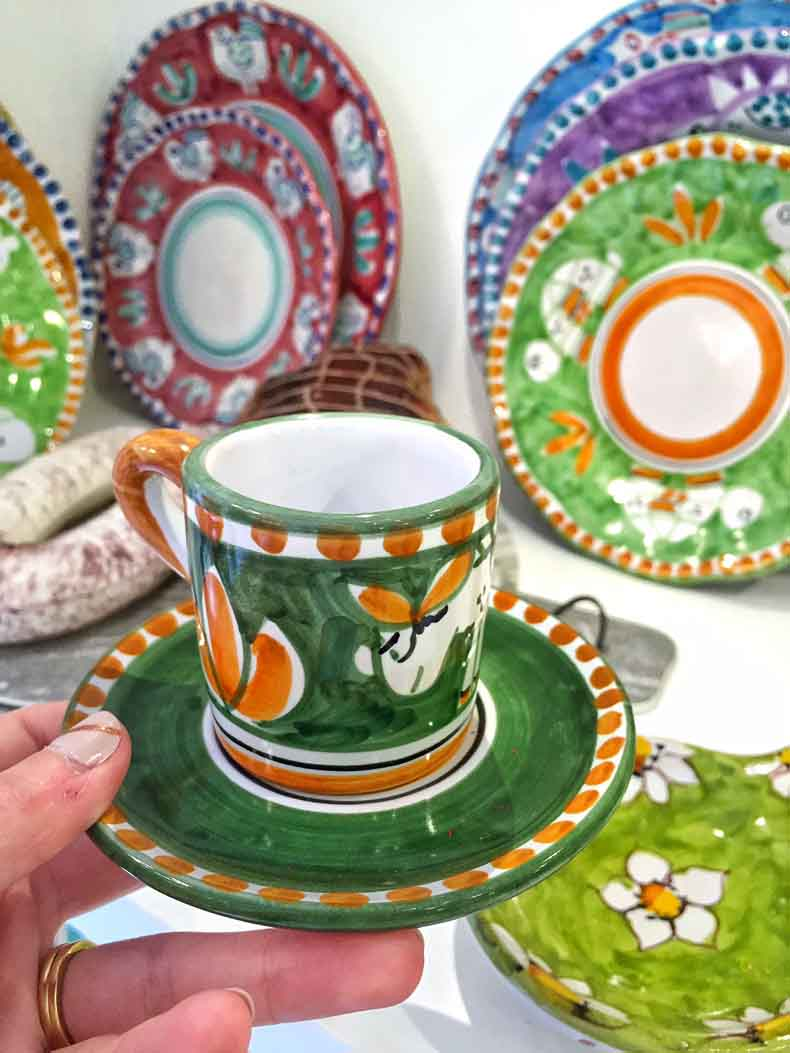 Just some of the dishes I wanted to take home with me. Good news is that you can purchase this specific set in New York City at the Upper West Side store la Terrine.