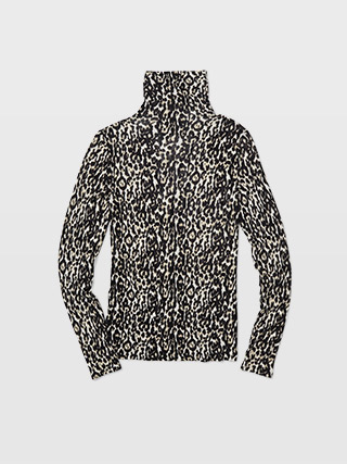 Julie Leopard Turtleneck  HK$890