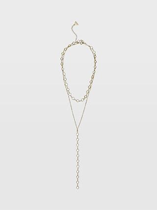 Serefina Crystal Lariat  HK$590