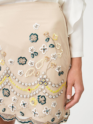 Monifa Embellished Skirt  HK$2690