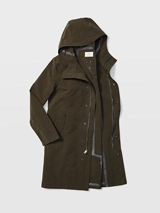 Hooded Tech Mac Coat  HK$4690