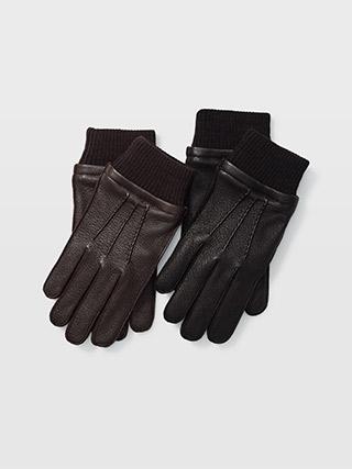 Ribbed Cuff Glove  HK$1190