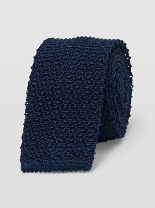 Seed Stitch Tie  HK$890