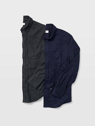 Slim Donegal Twill Shirt  HK$990