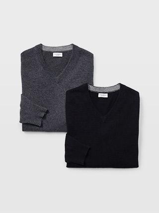 Cashmere V-Neck Sweater  HK$2990