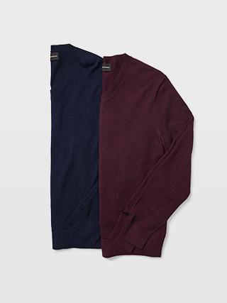 Merino V-Neck Sweater  HK$1090