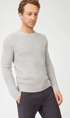 Cashmere Space-Dyed Crew  HK$3,290