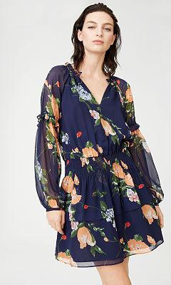 Abbygail Silk Dress  HK$2990