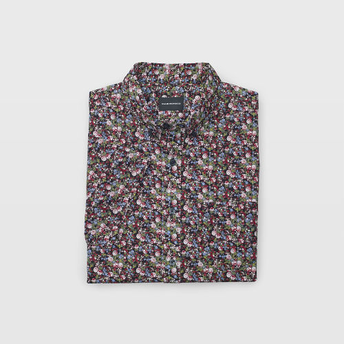 Short-Sleeve Tiny Floral Shirt  HK$990