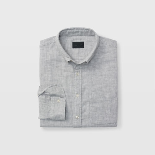 Slim Double-Faced Gray Shirt  HK$1490
