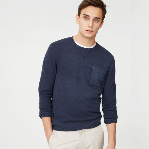 Cashmere Garment-Dyed Crew  HK$3690