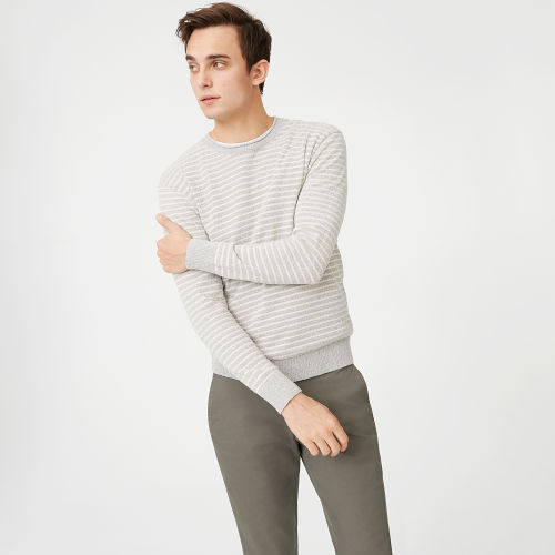 Striped Boucle Rollneck  HK$1690