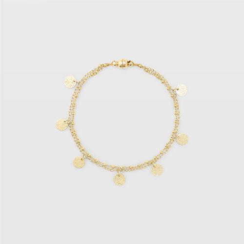 Disk Bracelet