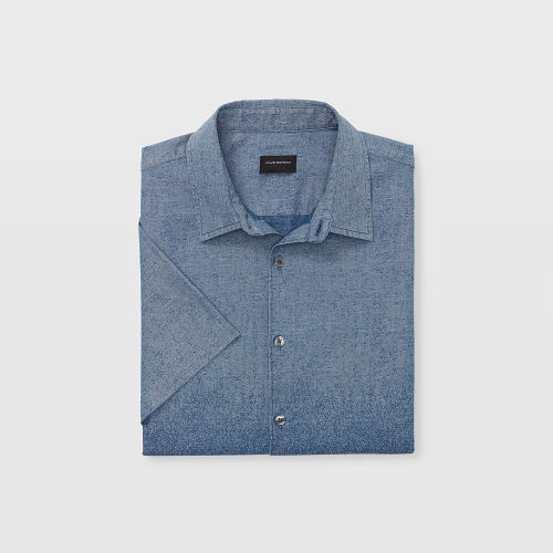 SS Ombre Chambray Shirt   HK$1,090