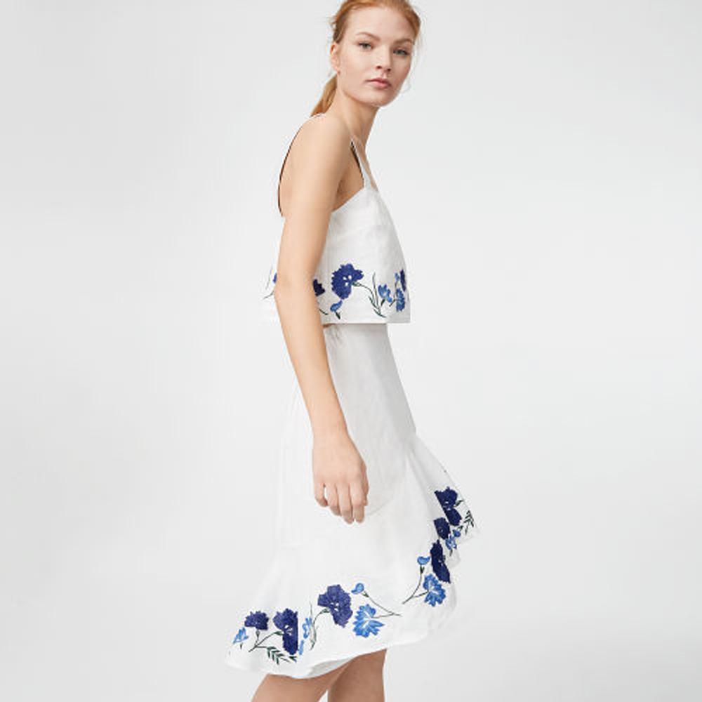 Lolia Linen Skirt   HK$2,190