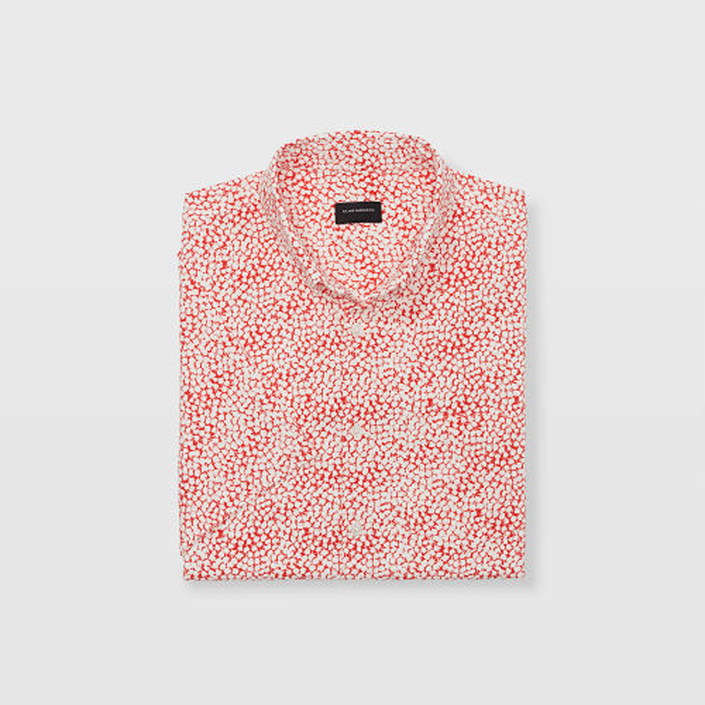 Slim Rose Seersucker Shirt   HK$1090
