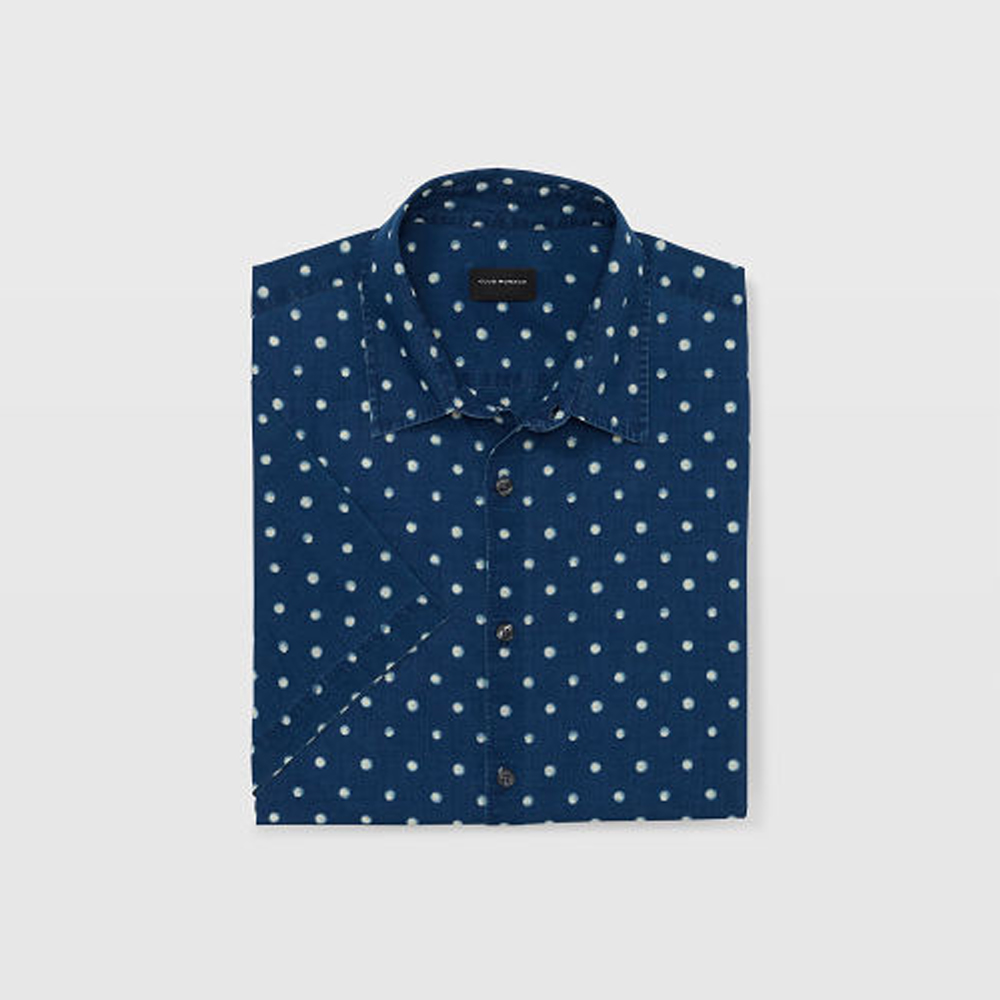 Slim Short-Sleeve Dot Shirt   HK$1,090