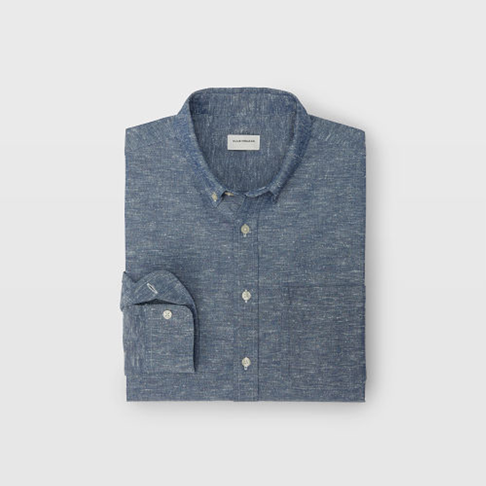 Slim Chambray Slub Shirt   HK$1,090