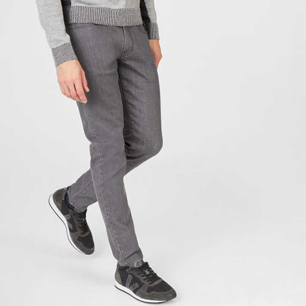 Super Slim Gray Wash Jean   was HK$1,390   now HK$834