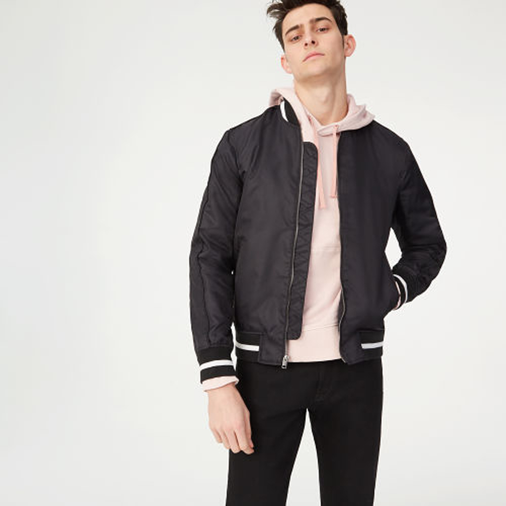 08 Embroidered Bomber   was HK$2,990   now HK$1,495