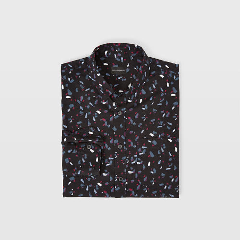 Slim Ditsy Paintbrush Shirt   HK$1,090