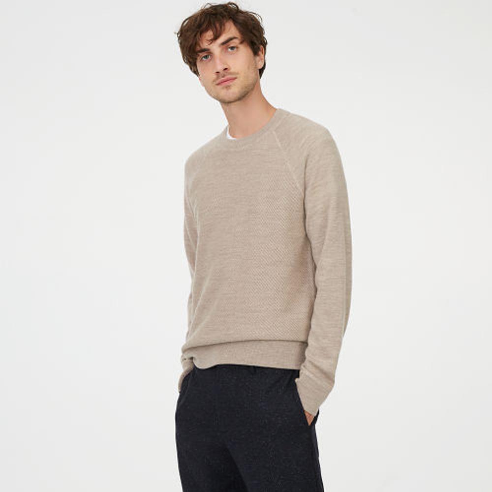 Twill Stitch Raglan Sweater   HK$1,490