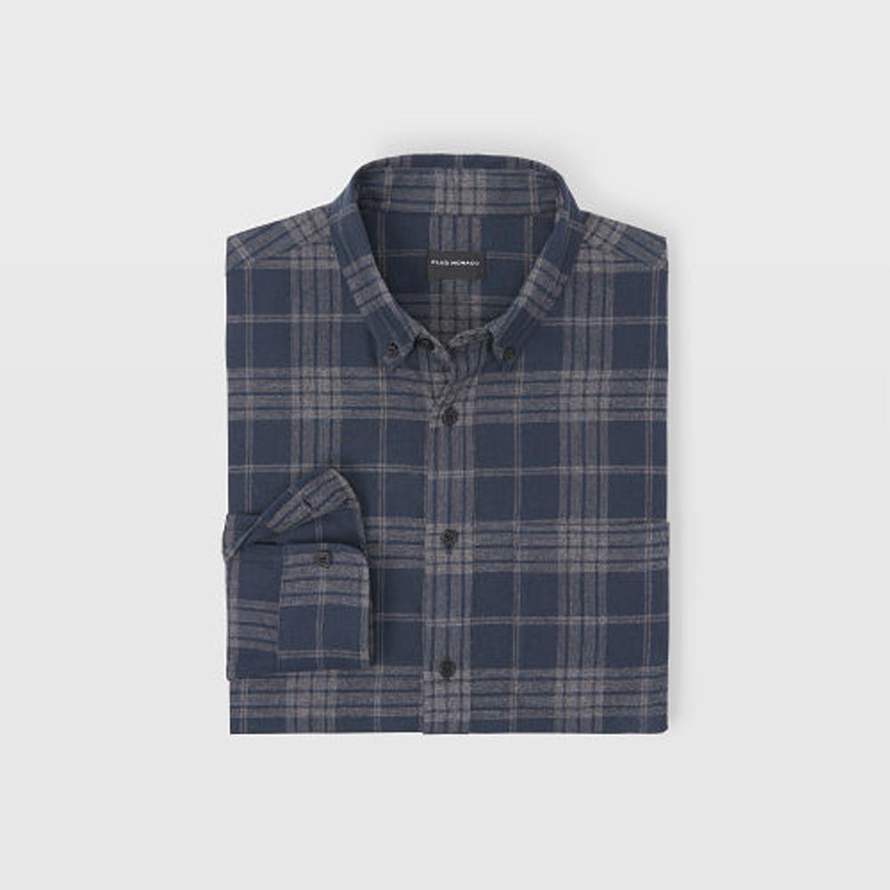 Slim Check Flannel Shirt   HK$1,090