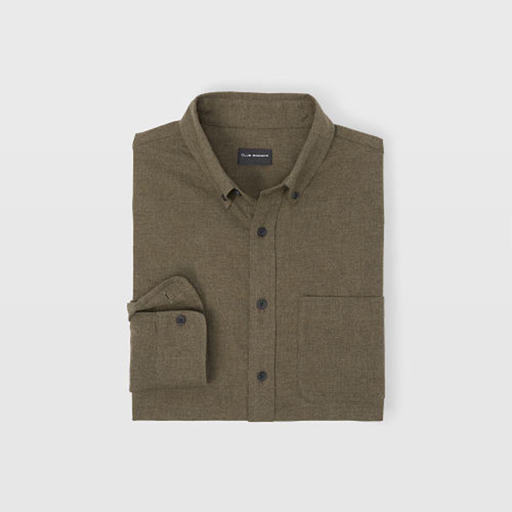 Slim Flannel Shirt   HK$1,090