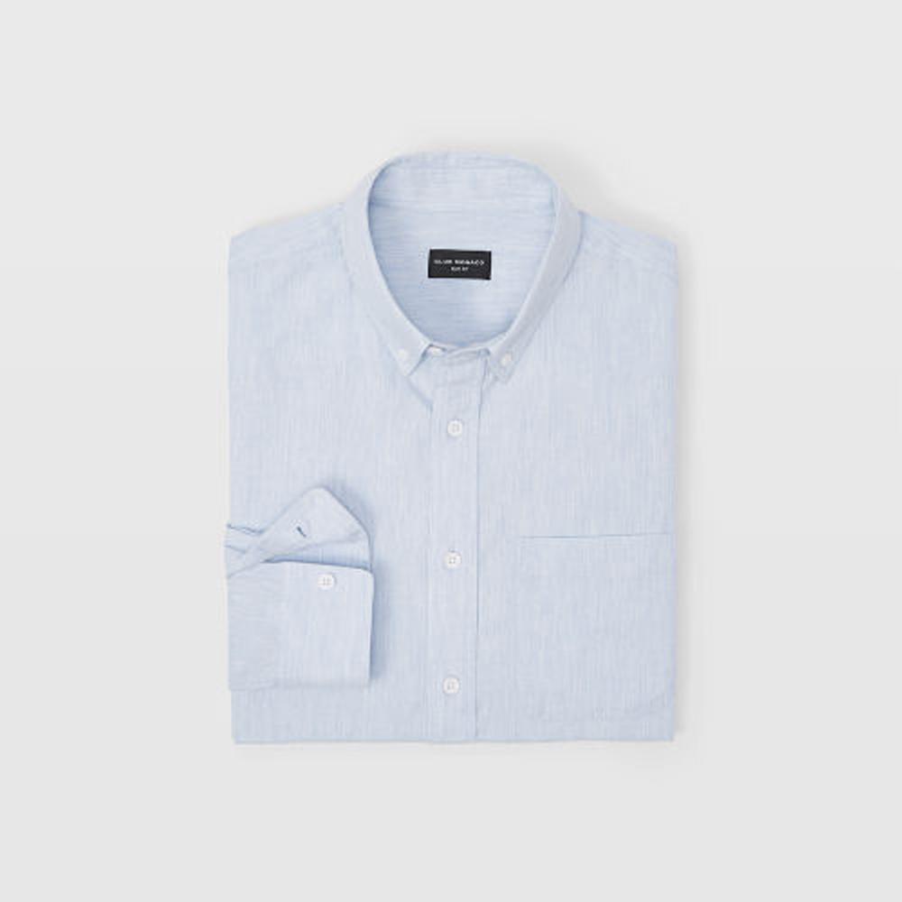 Slim Herringbone Flannel Shirt   HK$1,090