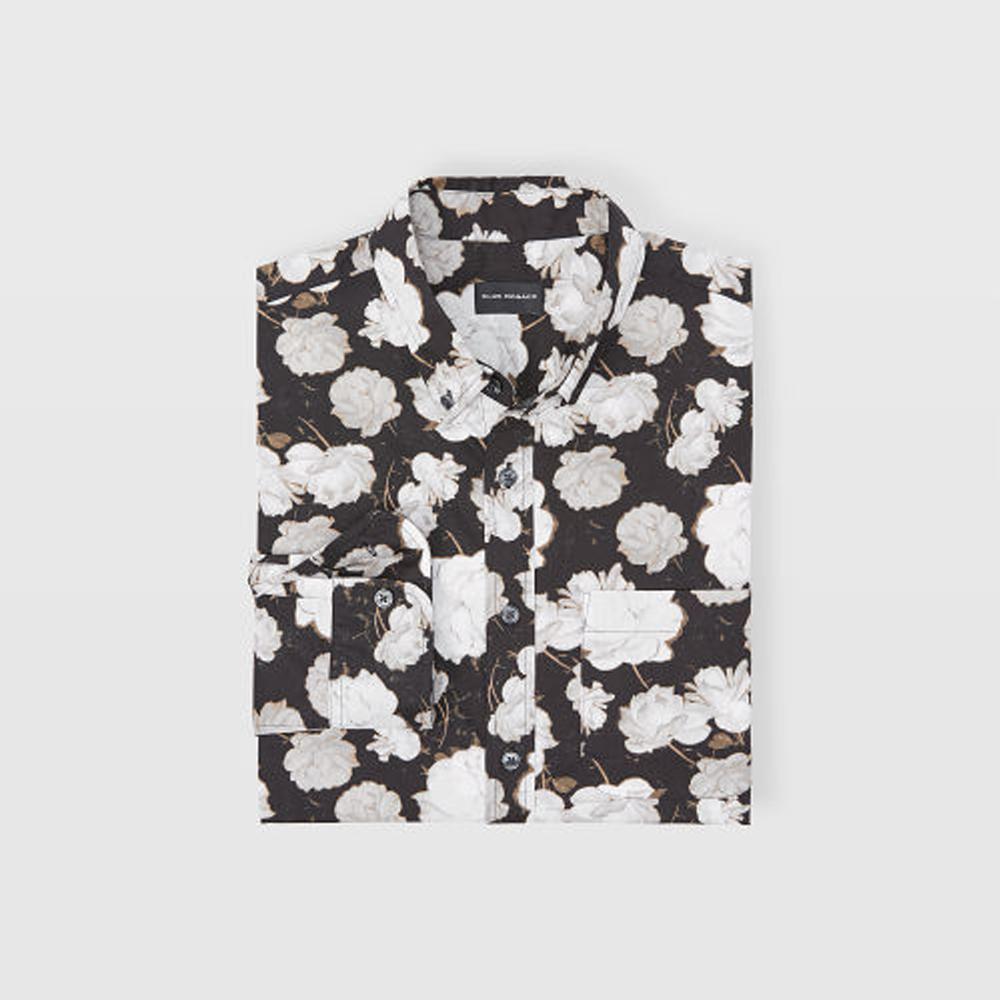 Slim Midnight Rose Shirt   HK$1,090