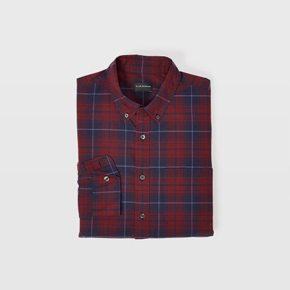 Slim Winter Plaid Shirt   HK$1,090