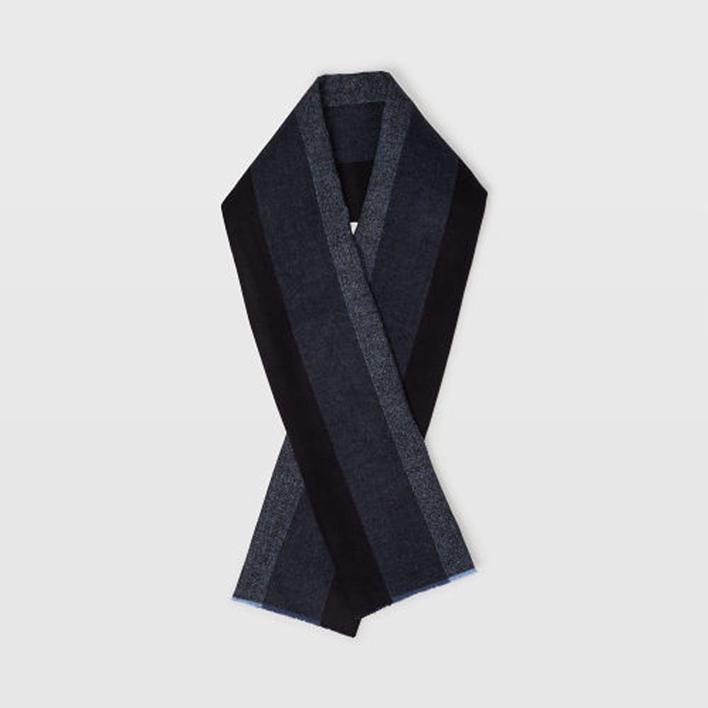 Wool Herringbone Stripe Scarf   HK$1,290