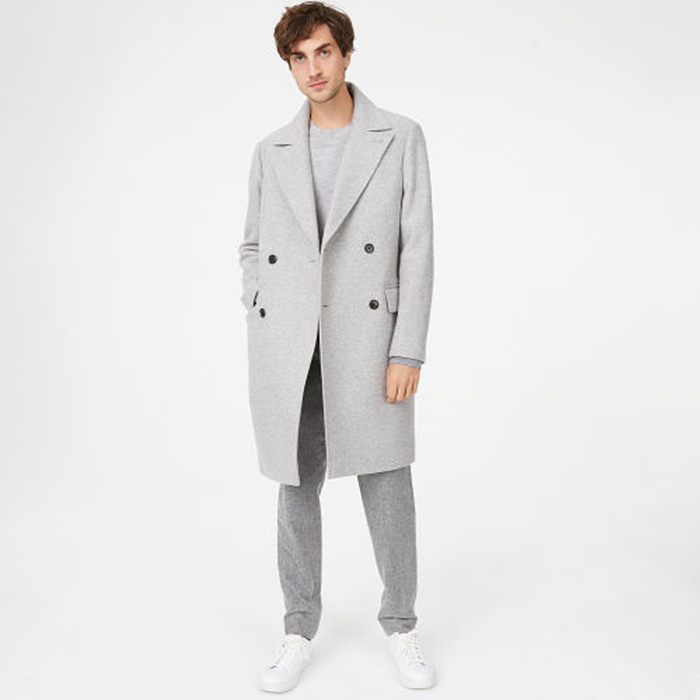 Double Breasted Topcoat   HK$5,990
