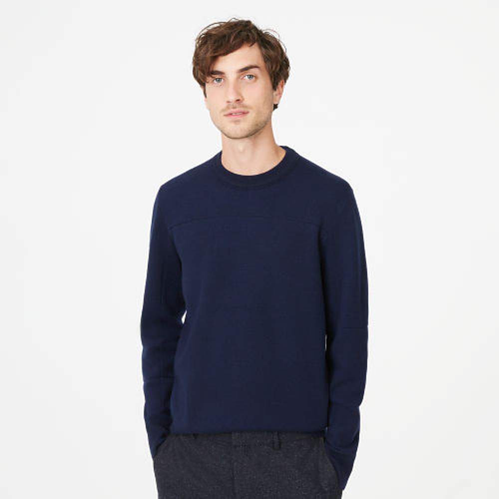 Double-Knit Seamed Crew   was HK$1,390   now HK$973
