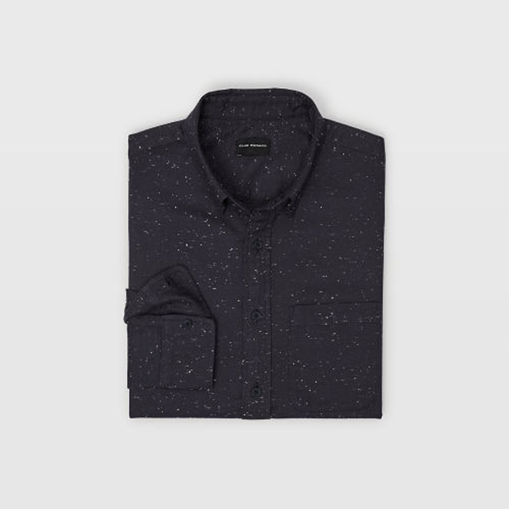 Slim Solid Nep Shirt   was HK$1,090   now HK$763