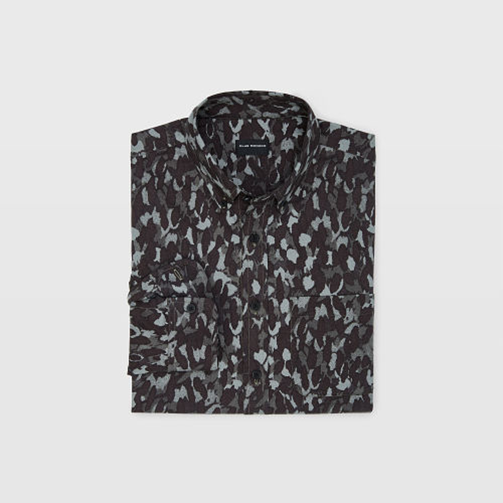Slim Camo Flannel Shirt   was HK$1,090   now HK$763