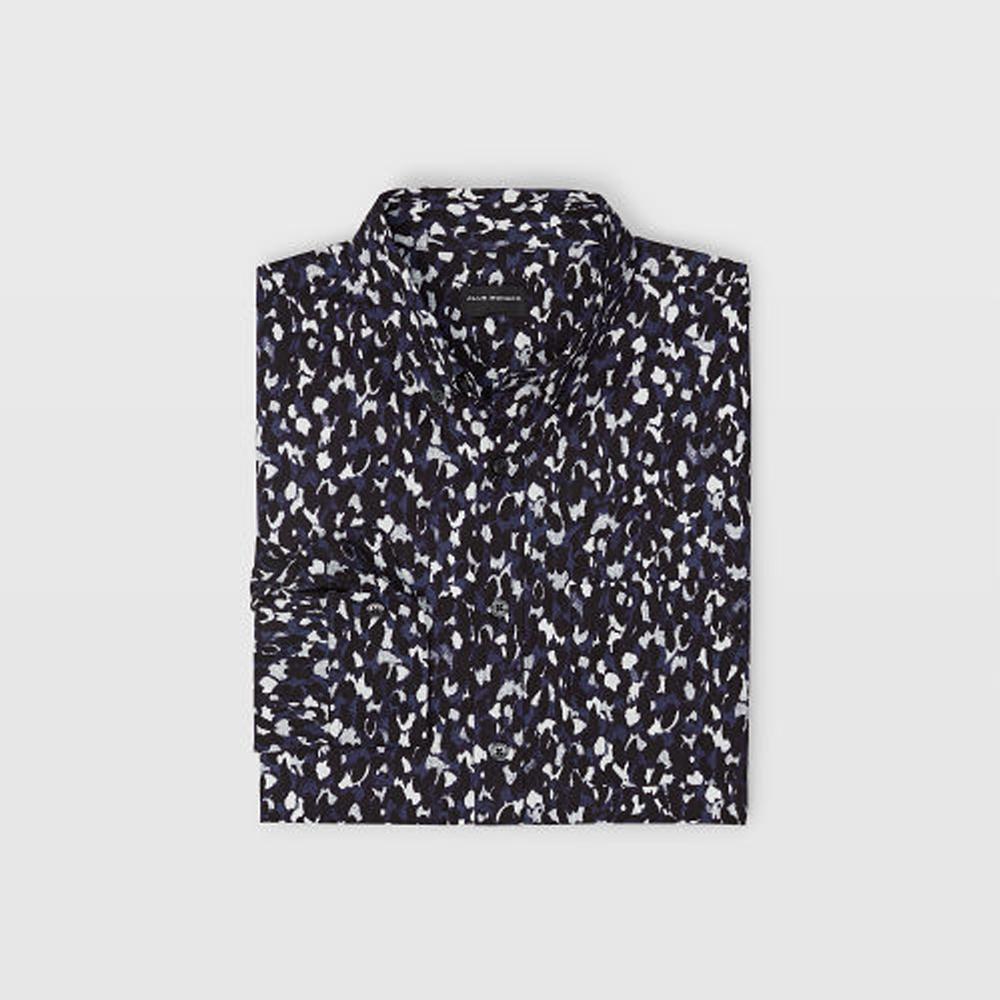 Slim Abstract Cheetah Shirt   was HK$1,090   now HK$763
