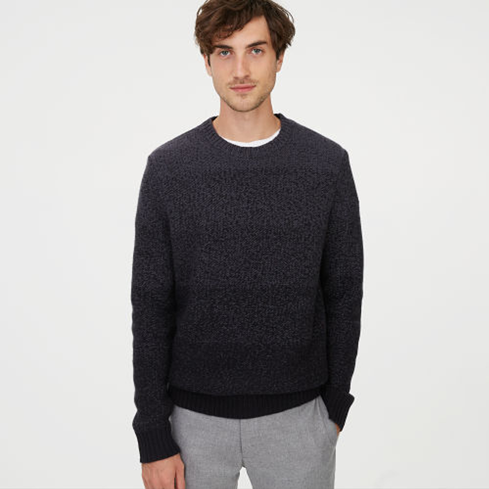 Cashmere Gradient Crew Sweater .  HK$4,590