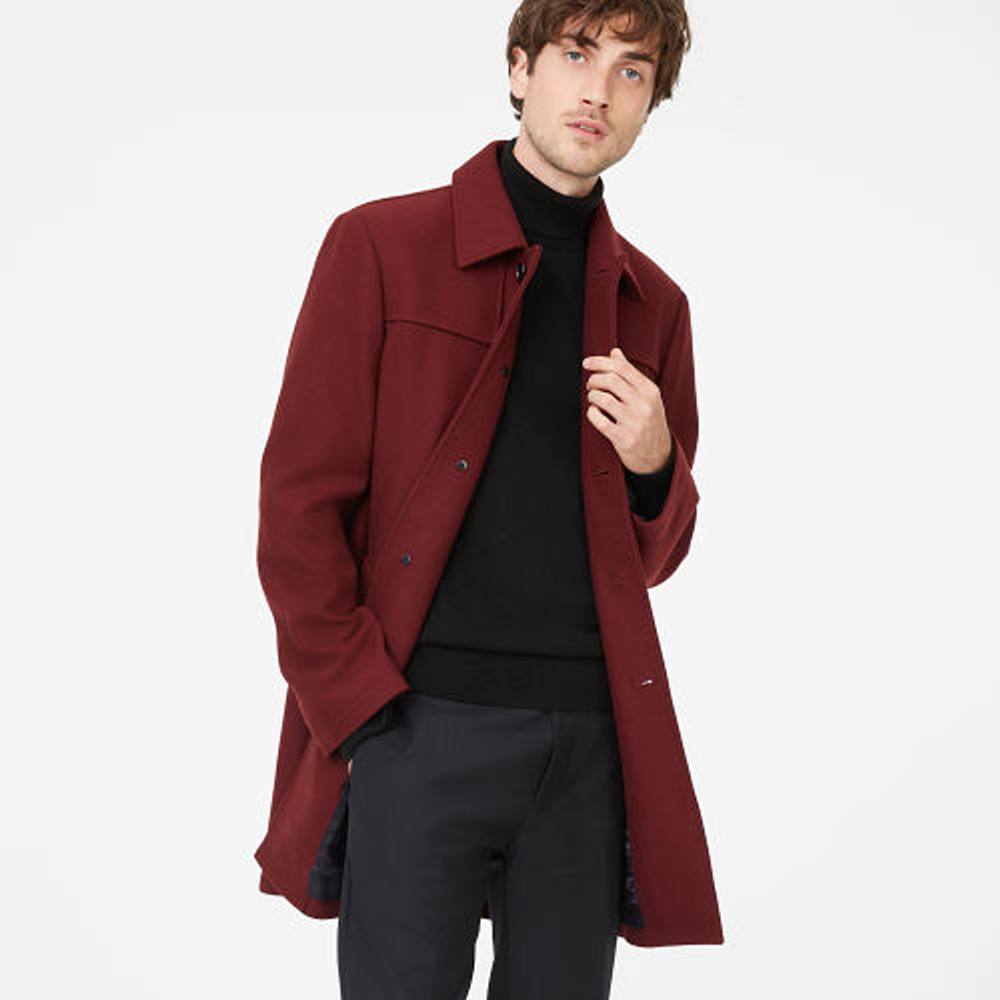 Luthrr Coat   was HK$4,290   now HK$3,003