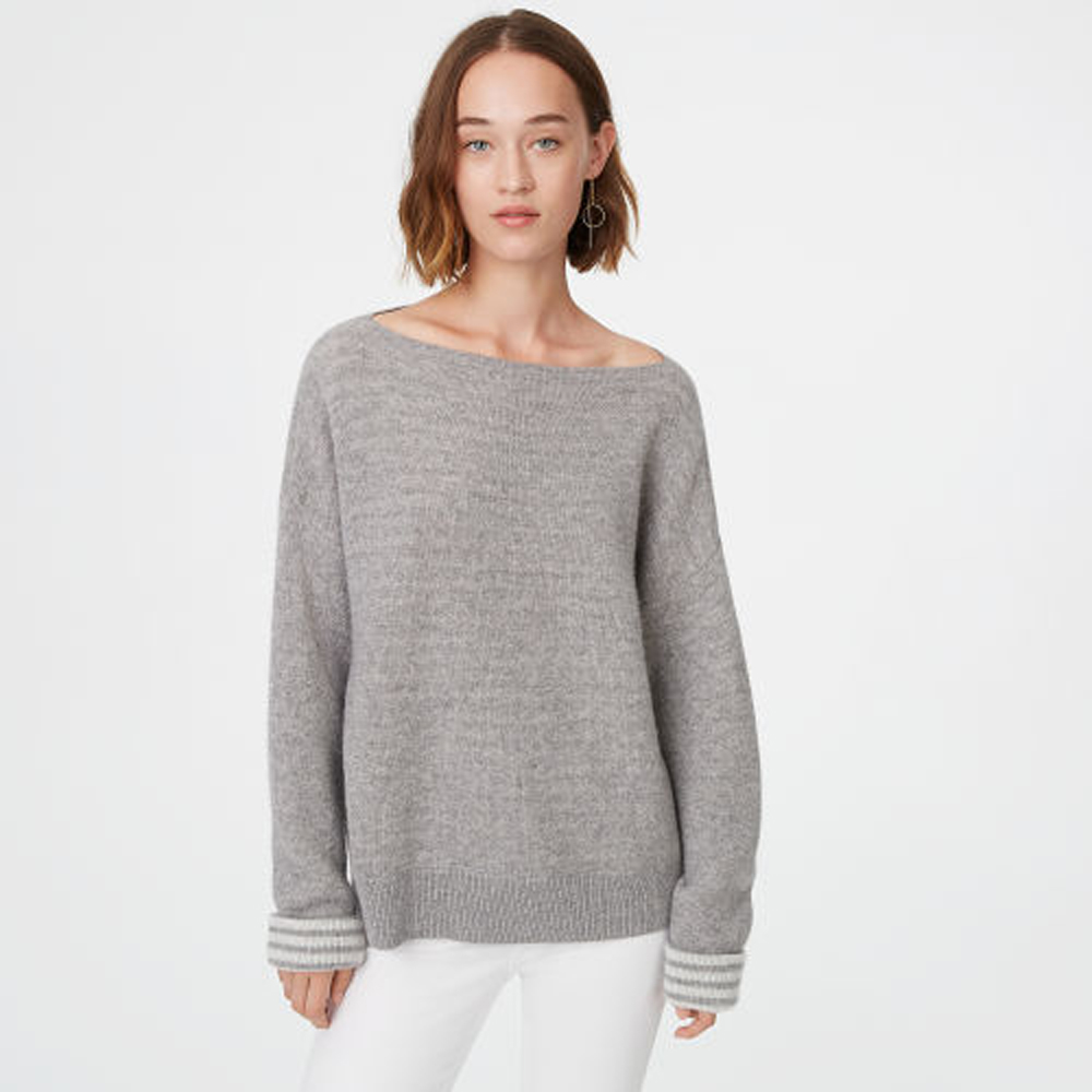 Donah Striped Cashmere Sweater   was HK$4,590   now HK$3,672
