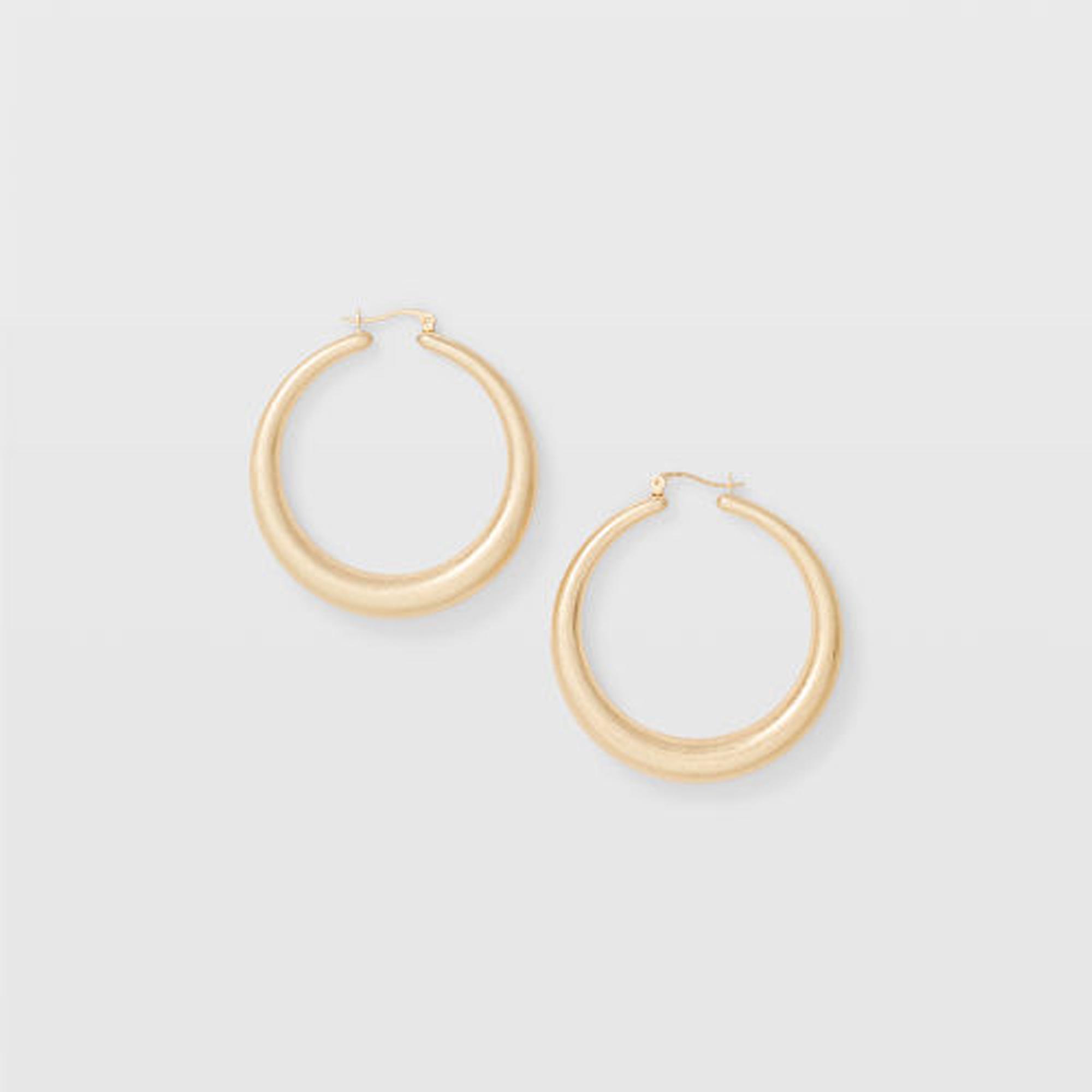 Matte Hoop Earring   HK$490