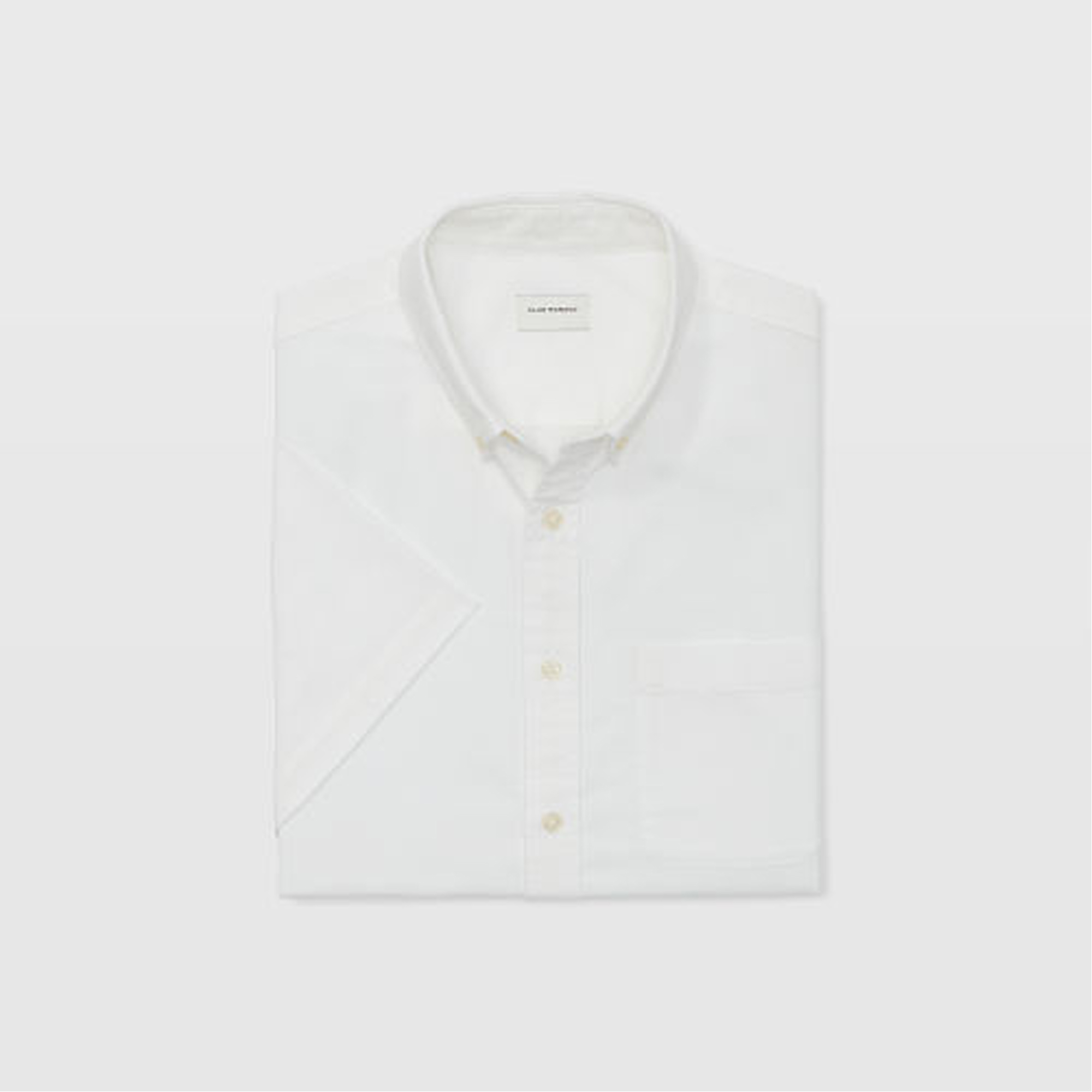 Slim Short-Sleeve Oxford Shirt   HK$890