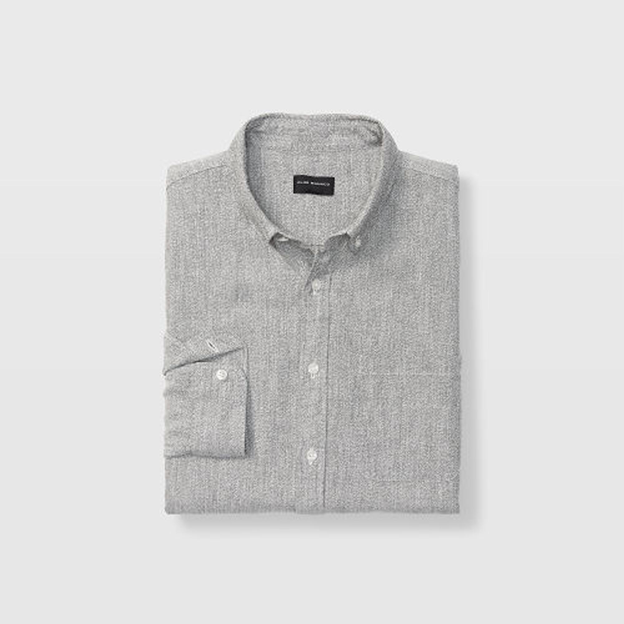 Slim Jaspe Linen Shirt   HK$1,190