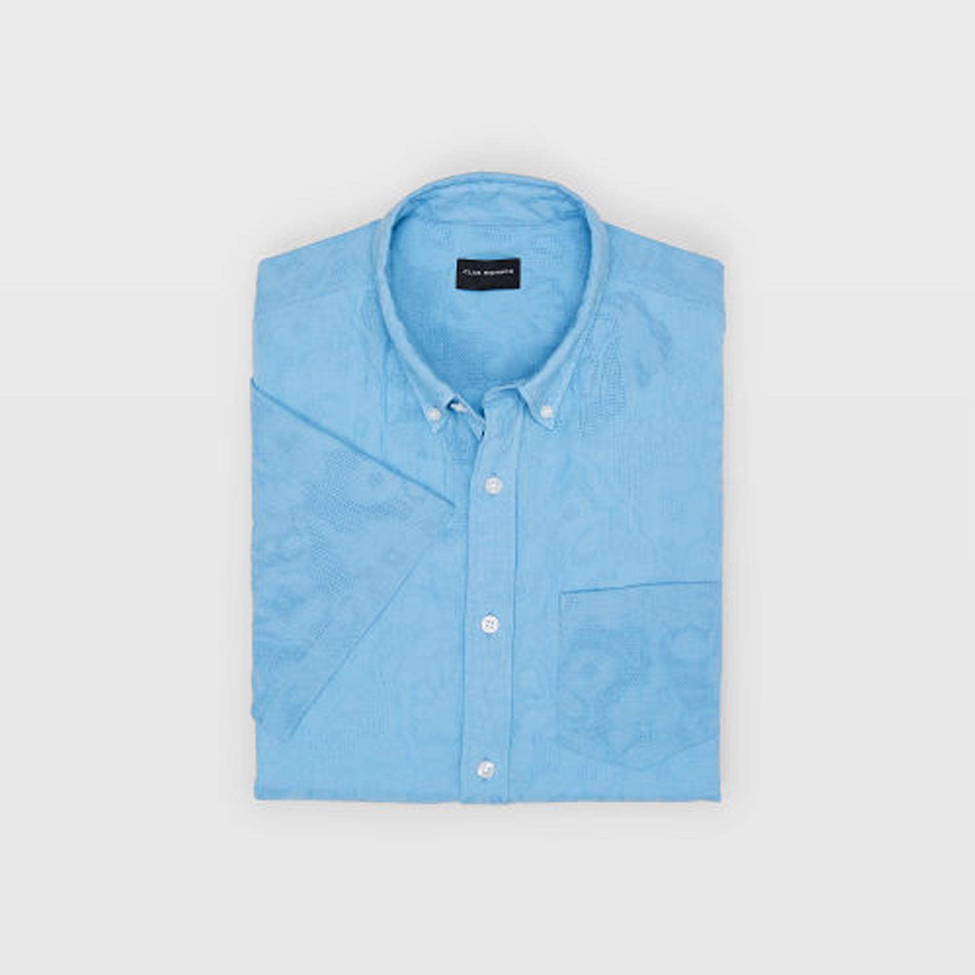 Slim Floral Jacquard Shirt   HK$890