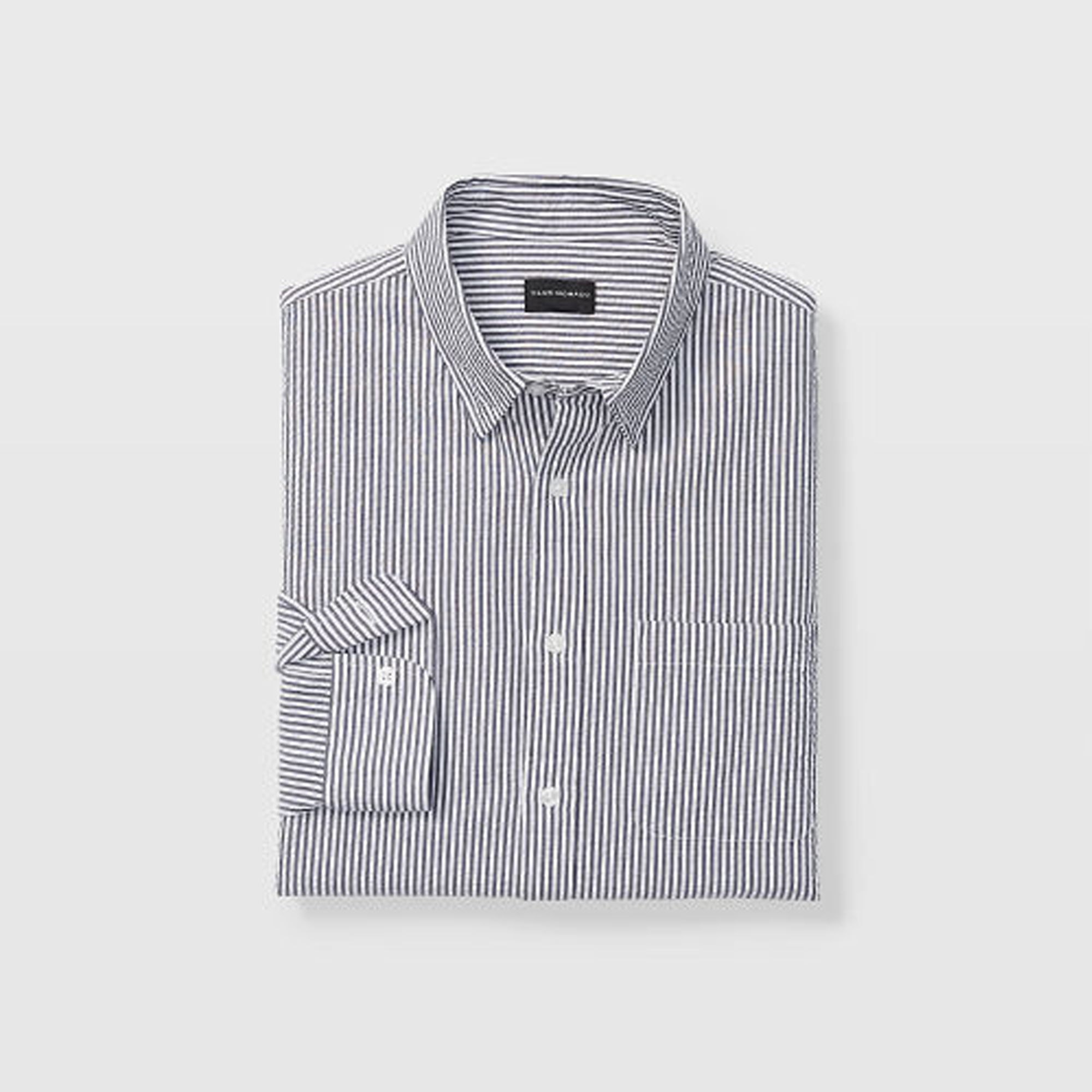 Slim Seersucker Shirt   HK$890