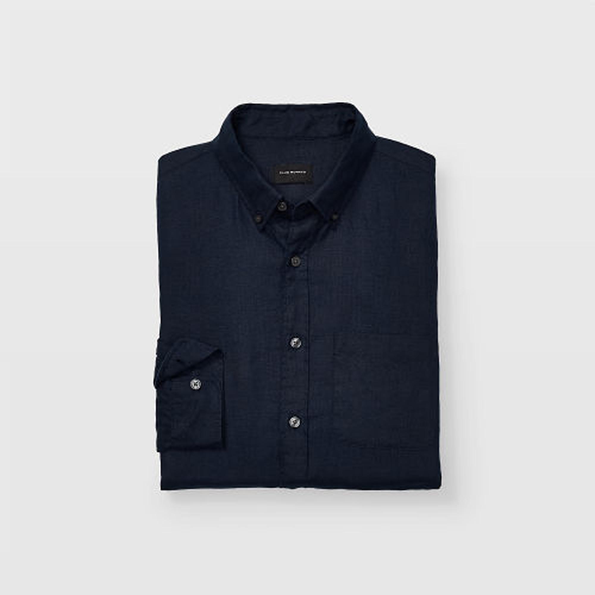 Slim Linen Shirt   HK$990