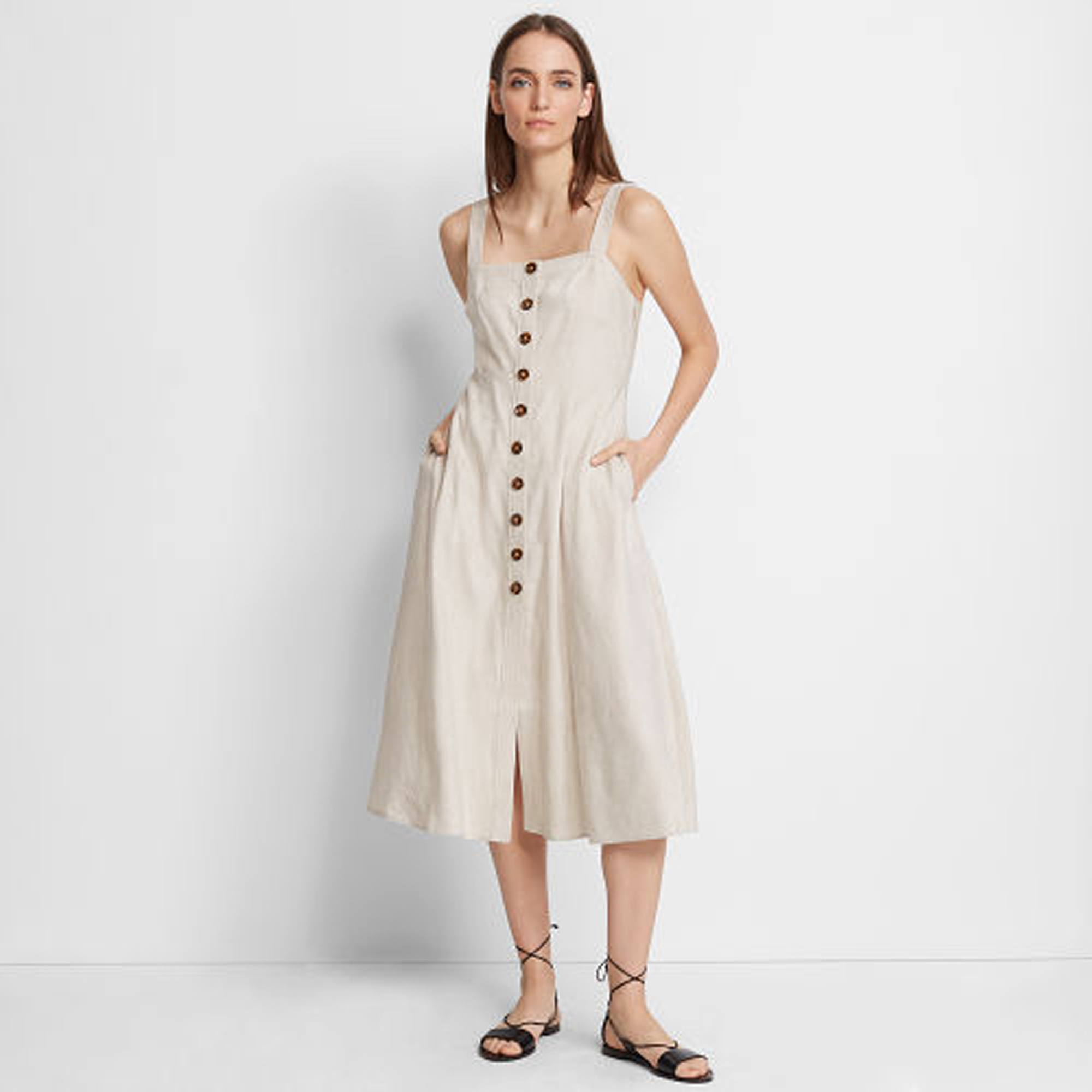 Piqua Linen Dress   HK$2,290