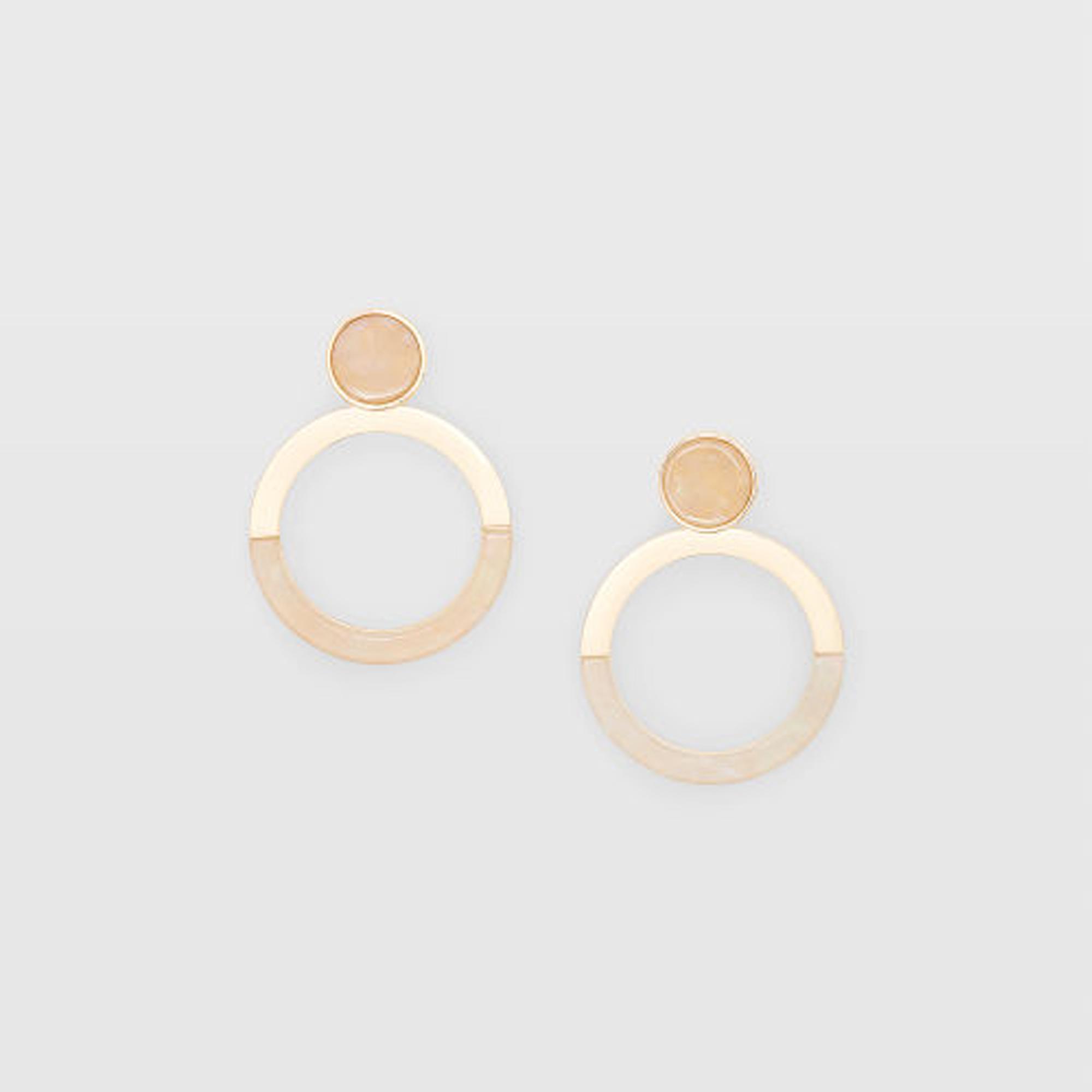 Combo Hoop Earring   HK$490