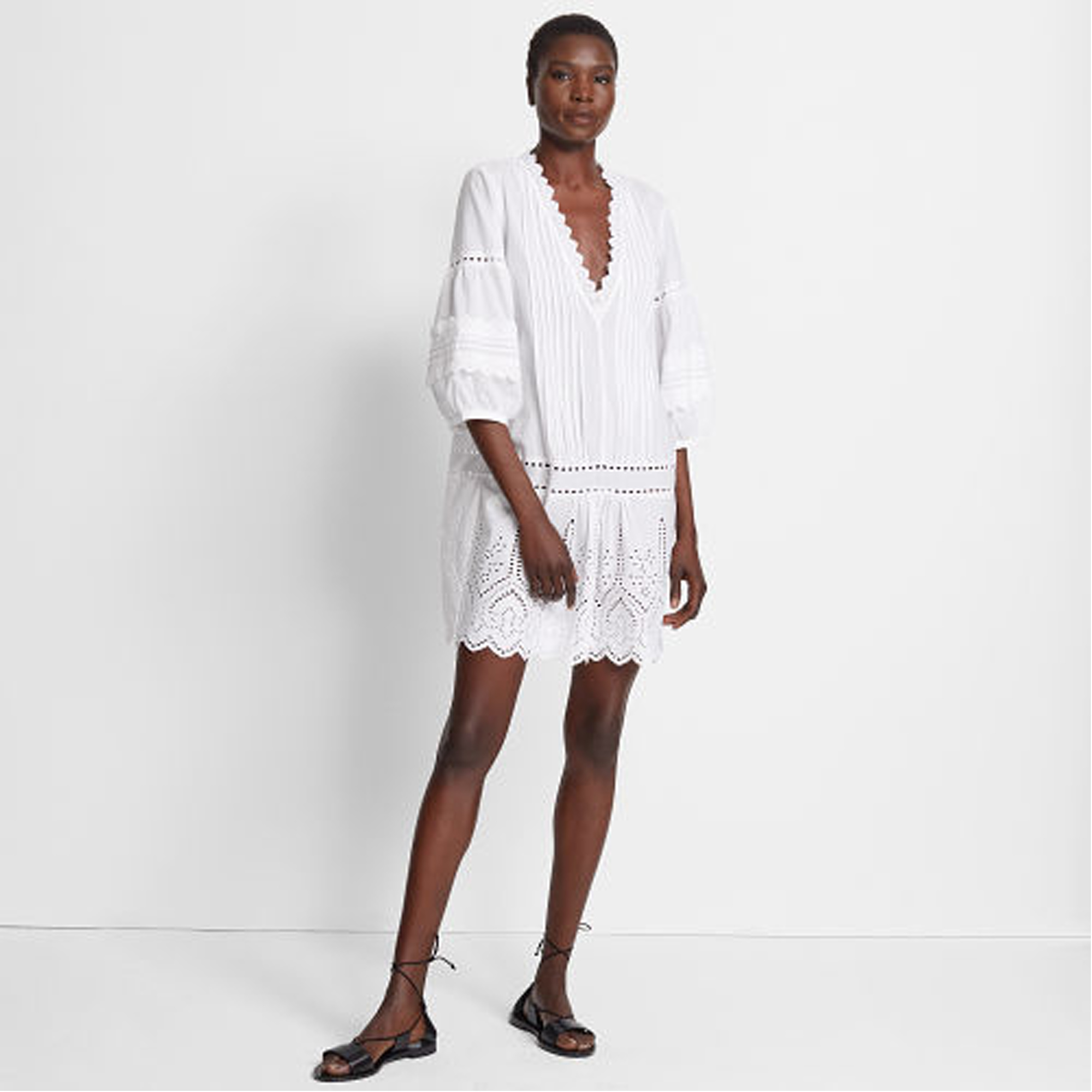 Torynt Eyelet Dress   HK$2,490